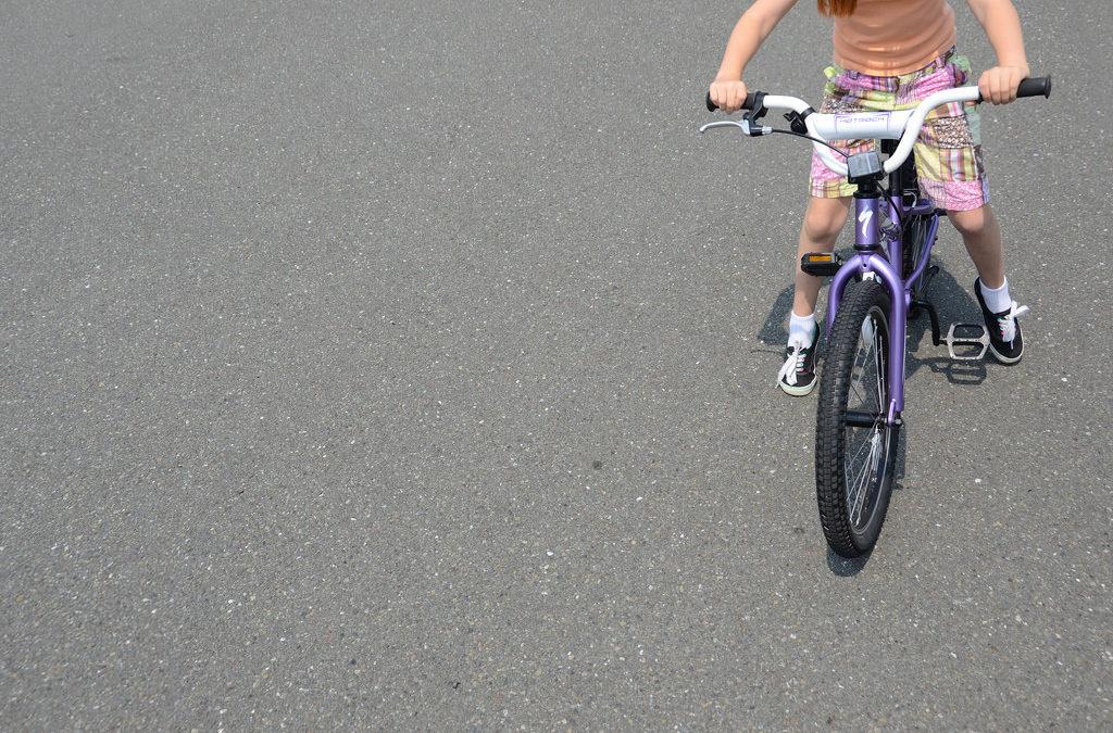Rower cz. II Jak uczyć jazdy rowerem?